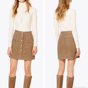 Tori Burch Lucitano Corduroy Skirt